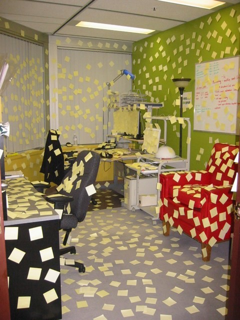 Post It Note Office and Time Management