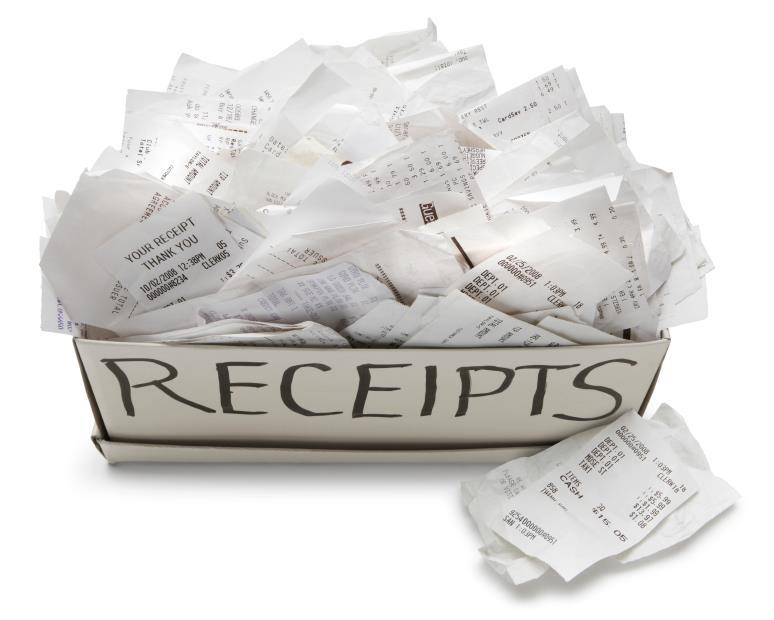 Income Tax Receipts