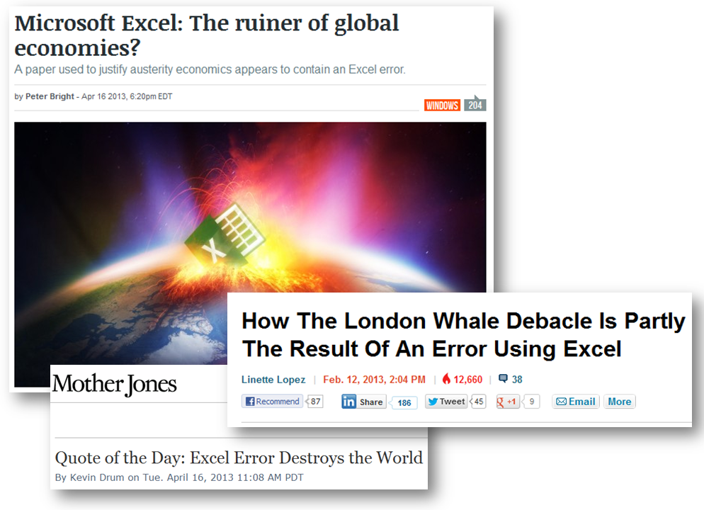 Excel: The Ruiner of Global Economies
