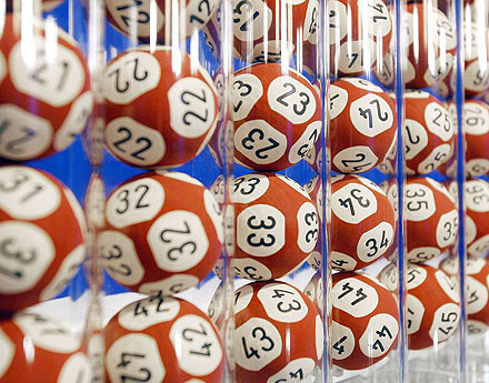 Lottery Balls With Numbers