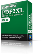 Convert scanned documents to Excel spreadsheets with PDF2XL OCR