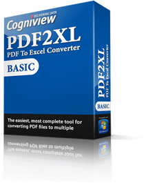 PDF2XL PDF to Excel Converter