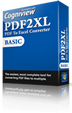 Purchase PDF2XL License