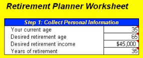 calculate your retirement with excel and beat the recession cogniview