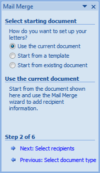Personalized invitations using word and excel cogniview we want to use an existing list the list we created earlier in excel so browse for the file where you saved it on your machine and select it stopboris Images