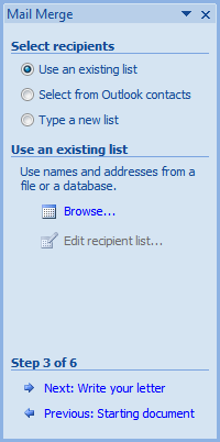Personalized invitations using word and excel cogniview when you have browsed and found your excel spreadsheet containing the names of your friends choose the sheet from excel sheet1 and click ok to load up stopboris Images