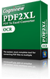 Purchase PDF2XL OCR License
